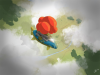 Concept art for children's book