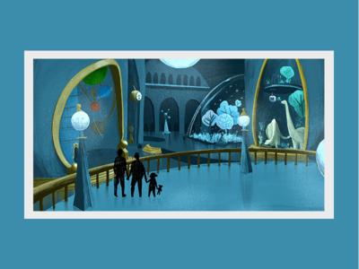 WIP for interior illustration of children's book childrensbookillustration ship illustration kidsbook thepolarisaway