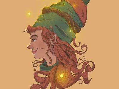 Pheris the Steward, Queen of Fairies queen fairies fairy elf elves fantasy character illustration