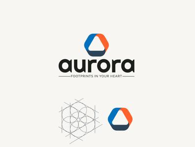 Aurora   Footprints in your heart