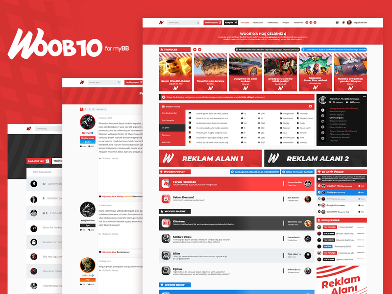 Woob10 - Forum Theme