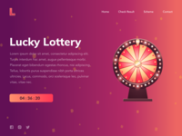 Lottery Landing Page