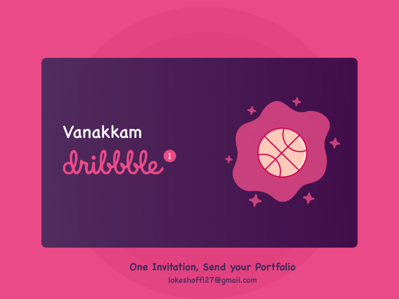One Free Dribbble Invite