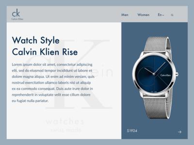 Calvin Klien Watches