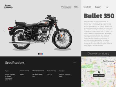 Royal Enfield Bike - Standard 350