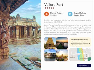 India Tourism - Vellore Fort Tamilnadu