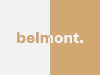 Belmont - Logotype