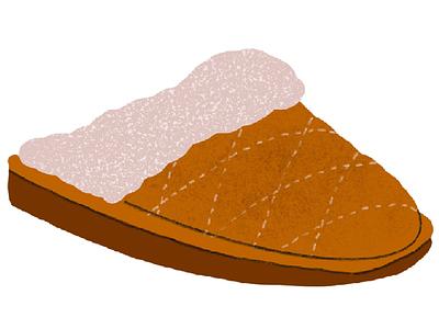 Slipper slippers procreate illustration