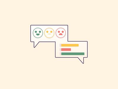 User Feedback Data ui vector illustration
