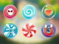 Candy in Candymeleon iOS Game ios game candymeleon candy