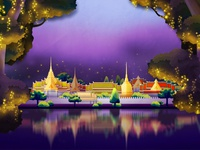 Candymeleon - Thailand background ios game candymeleon background thailand