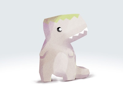A little dino illustration dinosaur