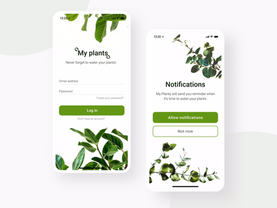 My Plants App Concent