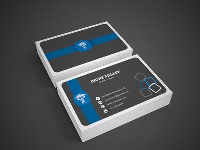 double sided Business card for Graphic Designer