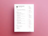 Resume large