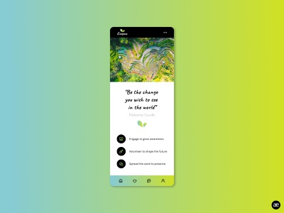 Ecopaw mobile app app app design application branding brand identity branding design brand design clean colorfull green homepage interface mobile app mobile app design mobile mobile ui mockup ui design figma colorful