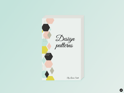 E-book Cover shapes pink minimalism minimal illustration green graphic design graphic download digital illustration design concept colorful colors color book cover book figma design e-book figma