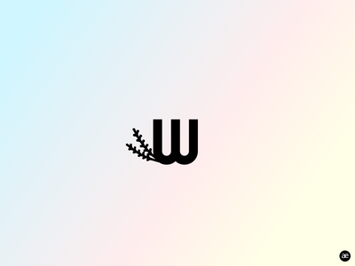 Logo design natural & modern brand modern logo natural brand gradient minimal redesign web graphic design logo branding design figma