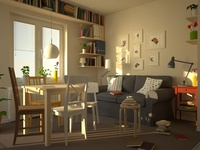 Apartment Living Room Shaders
