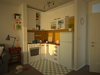 Apartment Kitchen Shaders