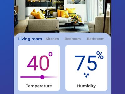Day021 dailyui Home Monitoring Dashboard uiuxdesign day021 app dailyui ui design