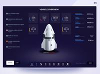SpaceX Crew Dragon SpaceCraft Redesign spacex ux web app uidesign ui design