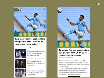 Day094 News Design news news design ux web daily ui app uidesign dailyui ui design