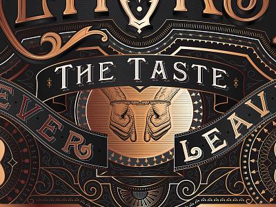 REMORSE label design_2 labeldesign scratchboard etching alcohol packaging print lettering typography illustration