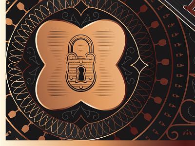 REMORSE label design_4 goldfoil black labeldesign etching packaging print logo lettering typography illustration