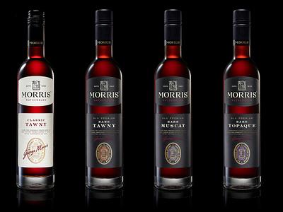 Morris Rutherglen typedesign whisky packaging label branding lettering type typography illustration