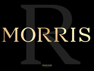 Morris Rutherglen_4 vector brandmark logotype logo typo typeface typedesign lettering typography illustration