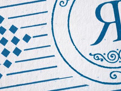 something logo branding illustration businesscard texture blue white photoshop beachhouse checkerboard