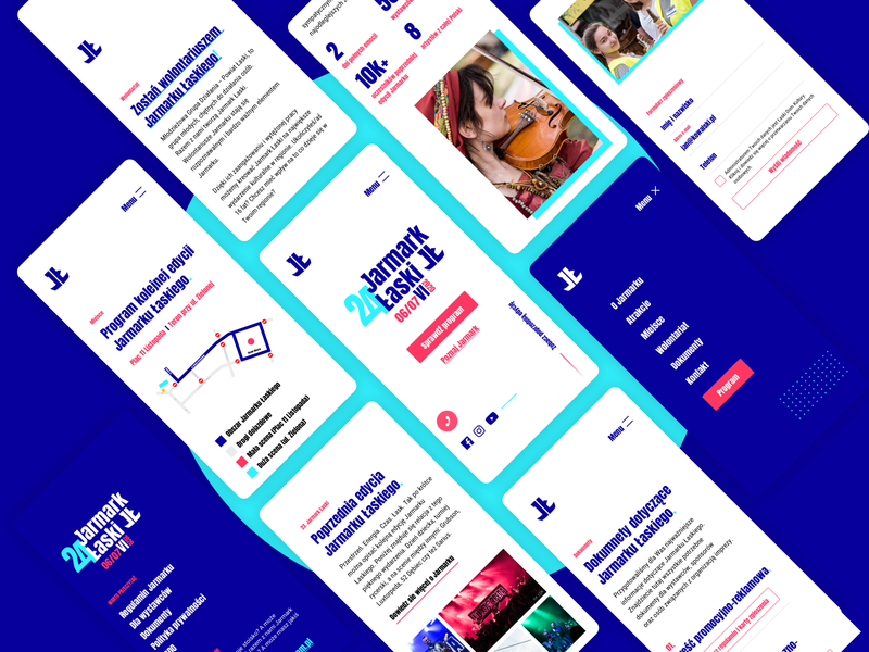 Jarmark Łaski  .  Web Design & Development