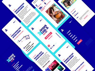 Jarmark Łaski  .  Web Design & Development webapp web branding design website design ux ui website webdevelopment webdesign