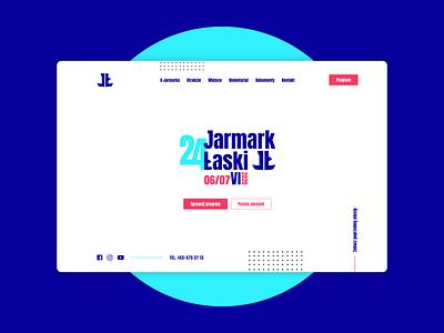 Jarmark Łaski  .  Web Design & Development webapp webapp design website design web ux ui design website webdevelopment webdesign