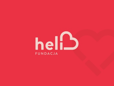 Fundacja Heli. Branding. illustration flat minimal icon typography vector branding logo