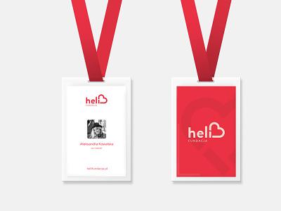 Fundacja Heli. Branding. illustrator animation flat minimal app icon typography vector branding logo