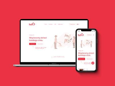 Fundacja Heli. Web Design & Web Development. webapp design design website design web ux ui website webdevelopment webdesign