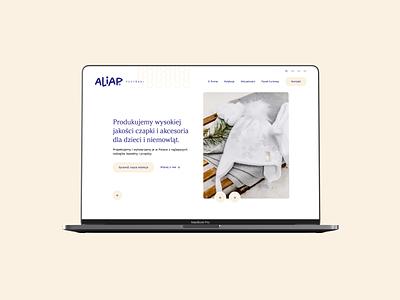Aliap. Web Design & Web Development. branding web ux ui webdevelopment webdesign