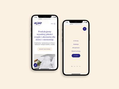 Aliap. Web Design & Web Development. branding website web ux ui design webdevelopment webdesign
