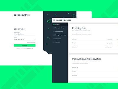 Spped Metrics   Web App Design webapp web website website design application ux ui design webdevelopment webdesign