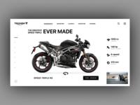 Triumph Motorcycles Shop Concept
