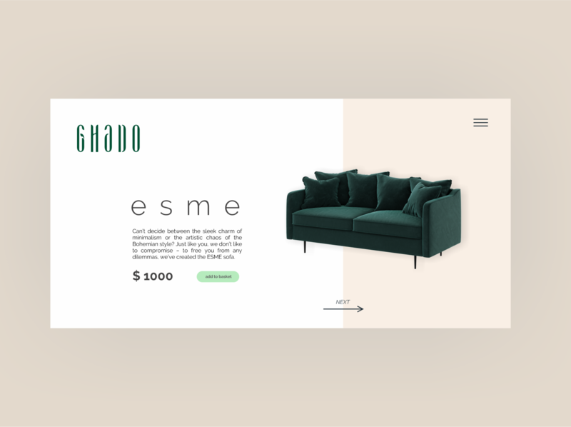 Furniture store app/ Ghado furniture app furniture store store web ux design ui design product design icons design app