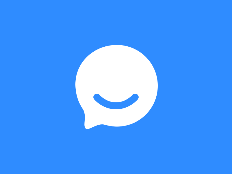 Intercom rounded chat icon by Myro Fanta on Dribbble