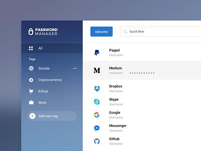 trezor password manager password manager tags save password save keys app clean design trezor manager trezor password manager