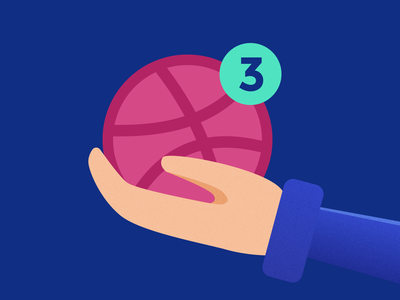 3 Dribbble invites giveaway icons icon royal blue clean design illustration dribbble ball ball dribbble invites invitations dribbble invitations dribbble invite giveaway invitation dribbble invite
