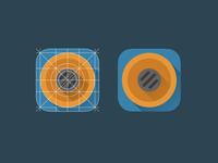 Tweetbot icon flat icon ios tweetbot app concept minimal minimalism simplicity martino pennati