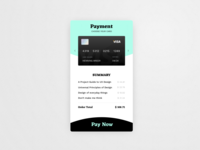 Credit Card Checkout // 002 DailyUI Challenge