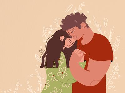❤️Happy Valentine's Day ❤️ flat vectornator adobe illustrator web illustration procreate vector character characterdesign app illustration illustration dribbbleweeklywarmup
