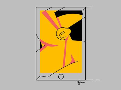 Inktober 2021 abstract abstraction black branding graphic design design characterdesign web illustration character vector app illustration illustration